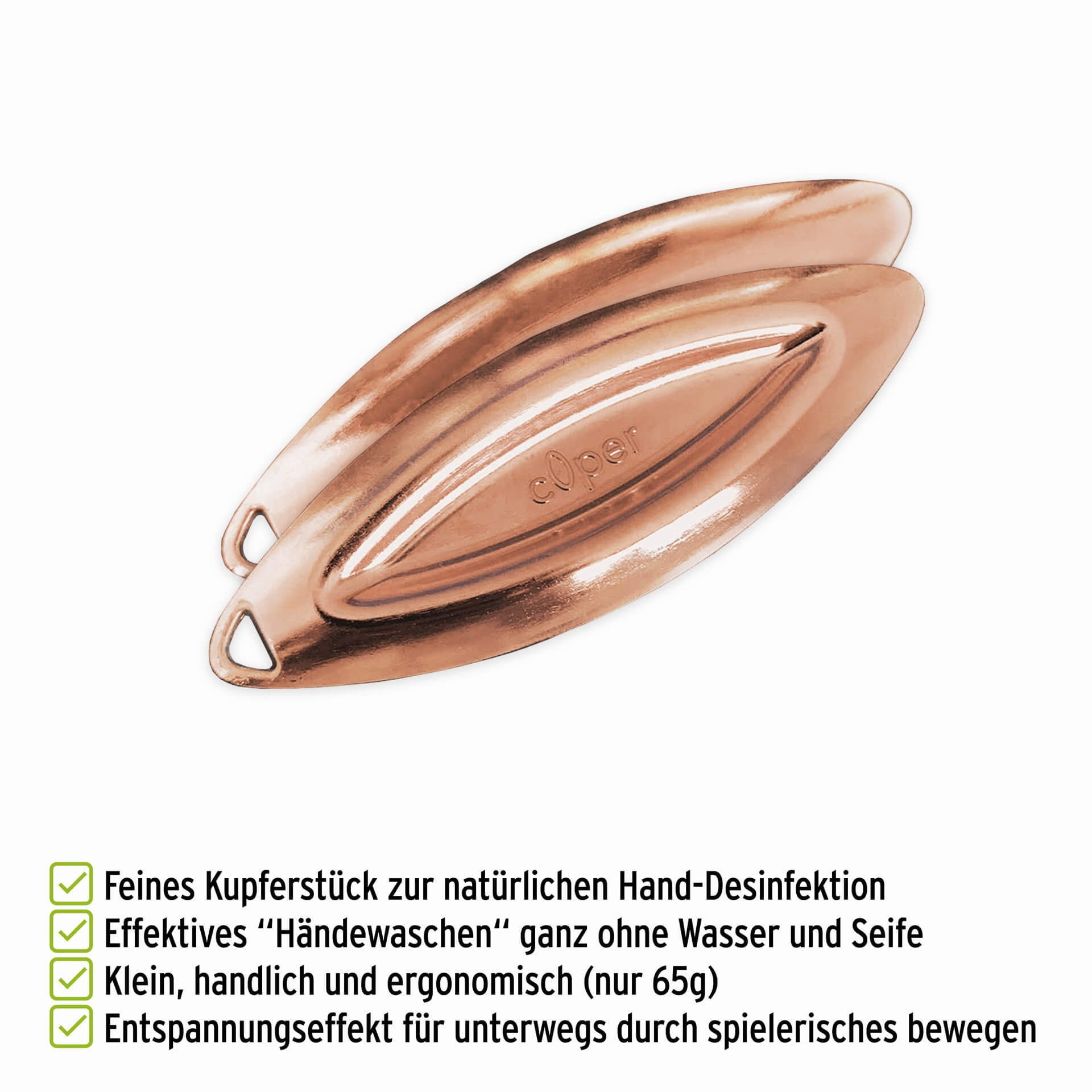 c0per Kupferstueck mit Vorteilen