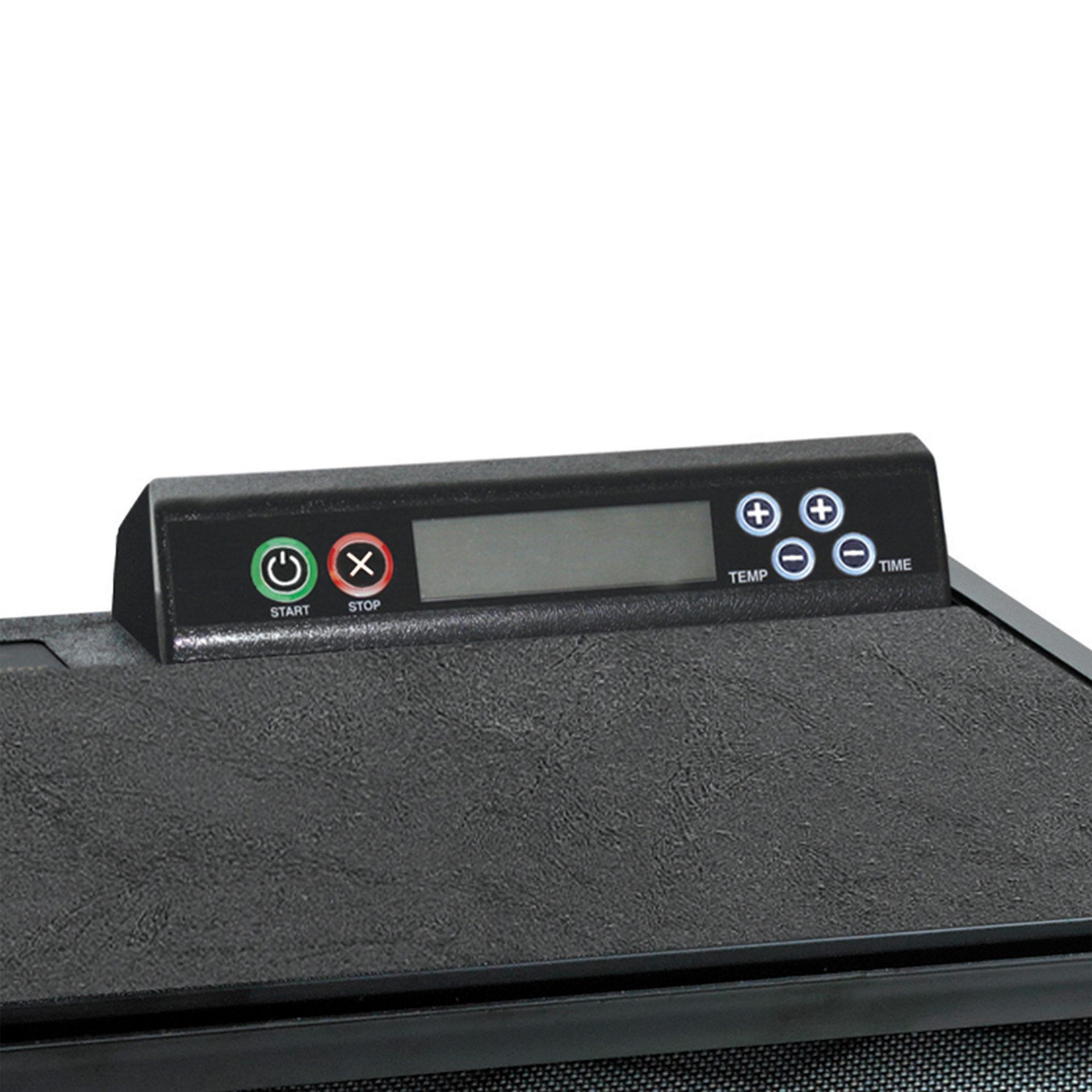 Excalibur Trockner mit 5 Einschüben Ansicht der Digitalsteuerung