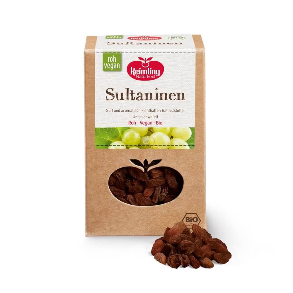 Sultaninen, bio 2.5 kg