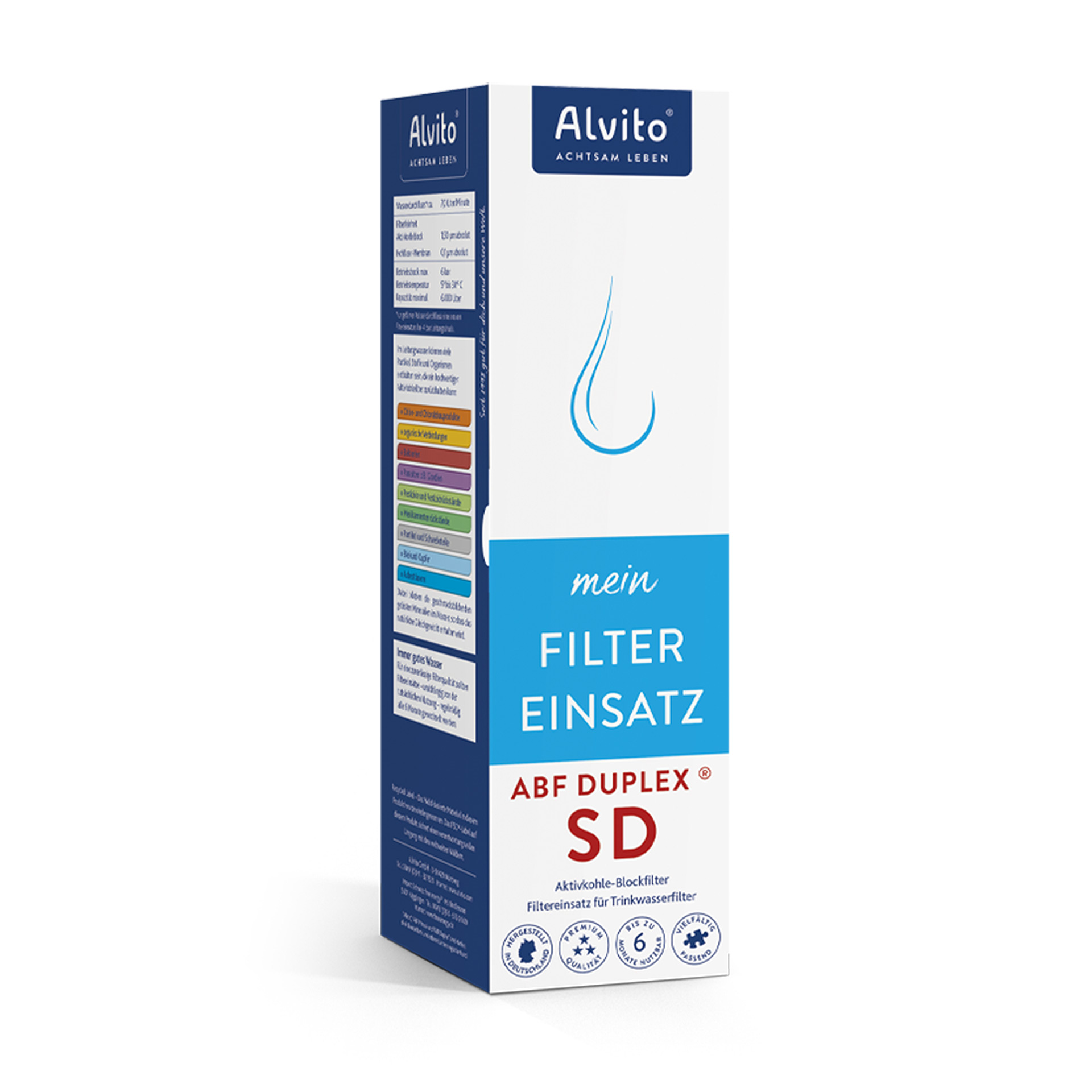 Alvito Filtereinsatz ABF Duplex SD