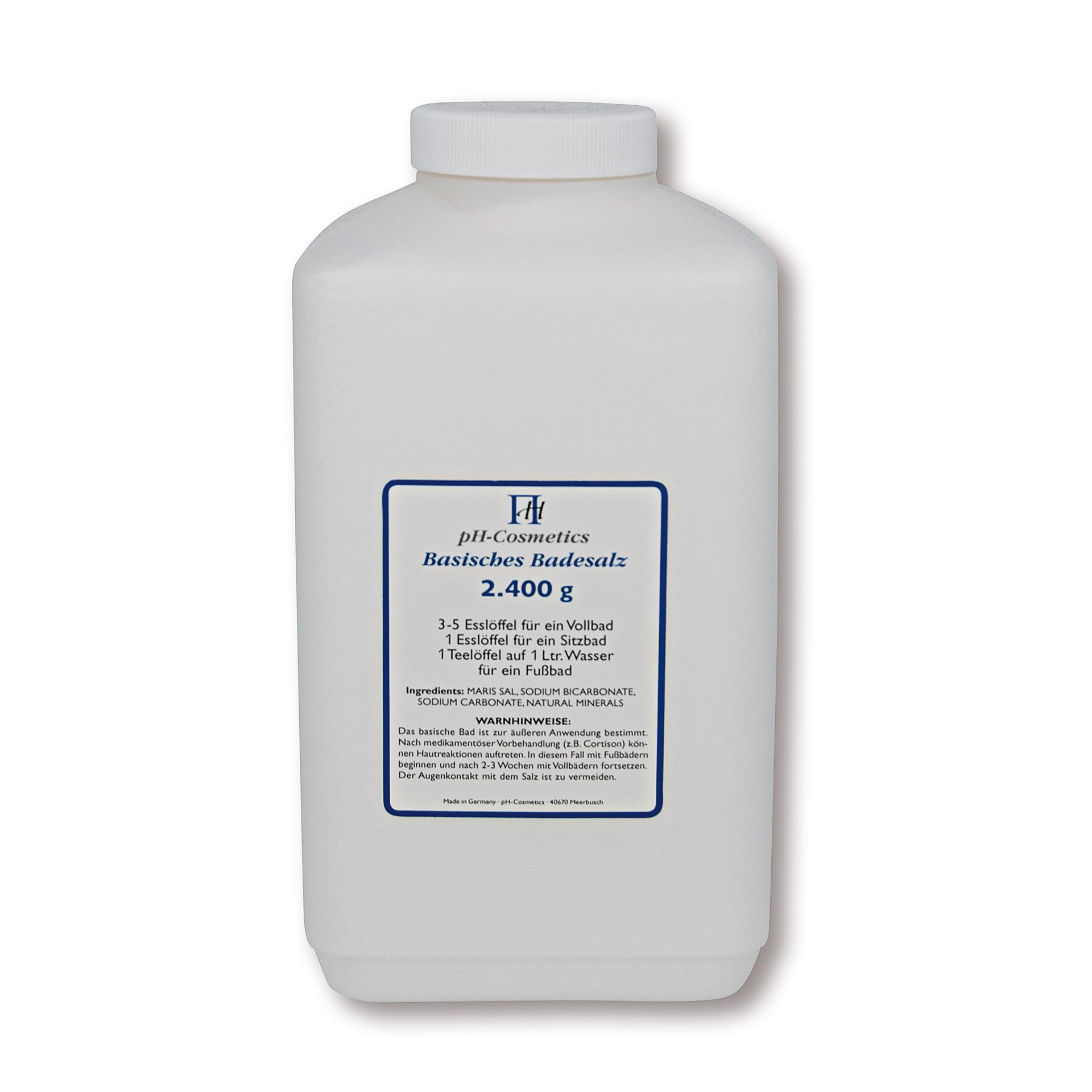 pH-Cosmetics basisches Badesalz 2.4 kg