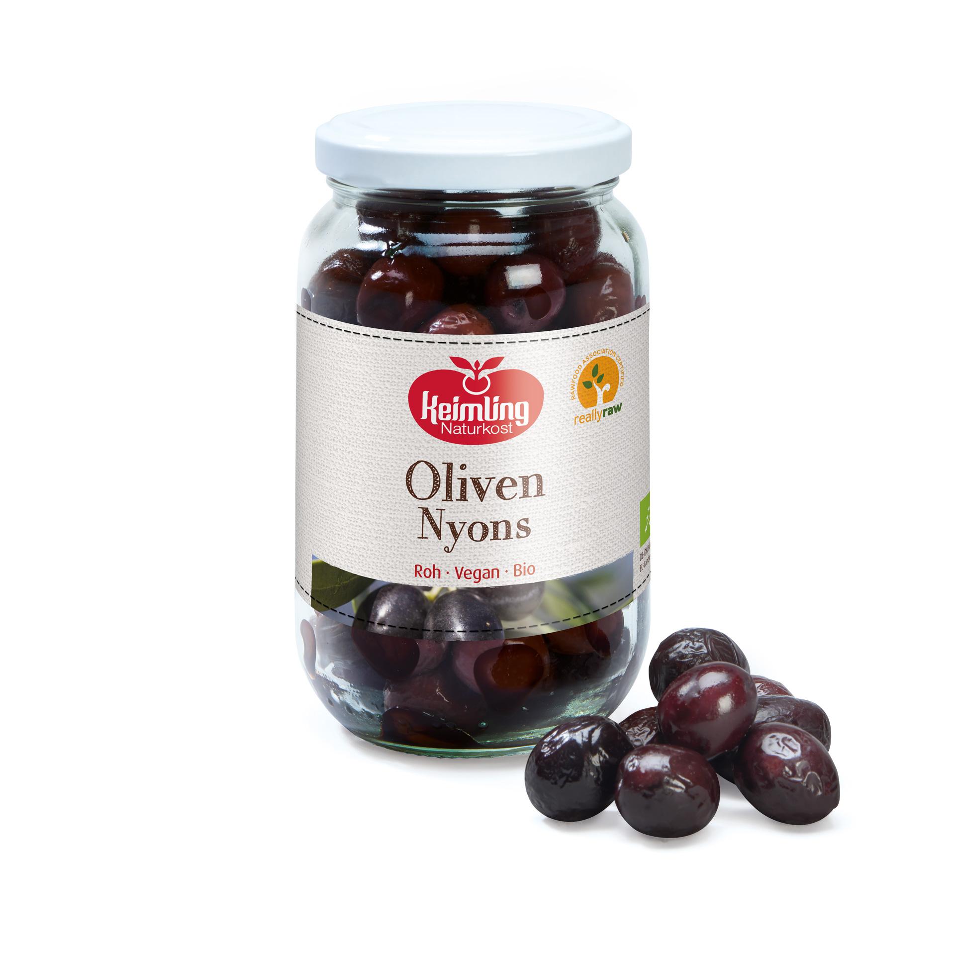 Oliven Nyons von Keimling NAturkost, really-raw zertifiziert