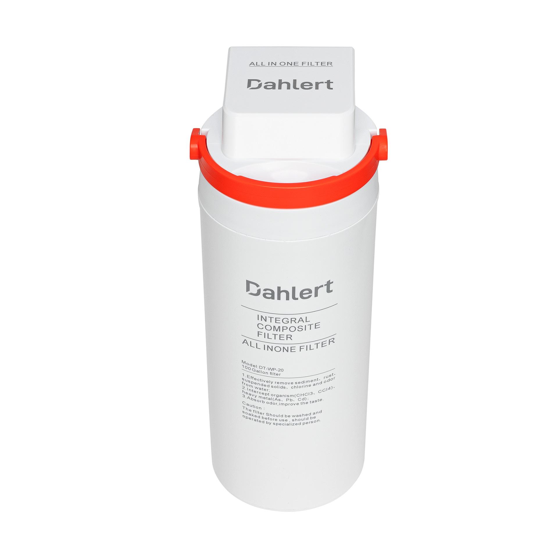 Dahlert Wasserfilter DT-WP-20 Weiß