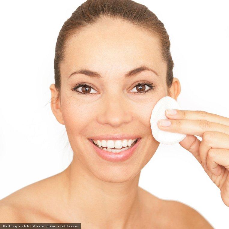 Leicht und erfrischend - zum Reinigen der Haut