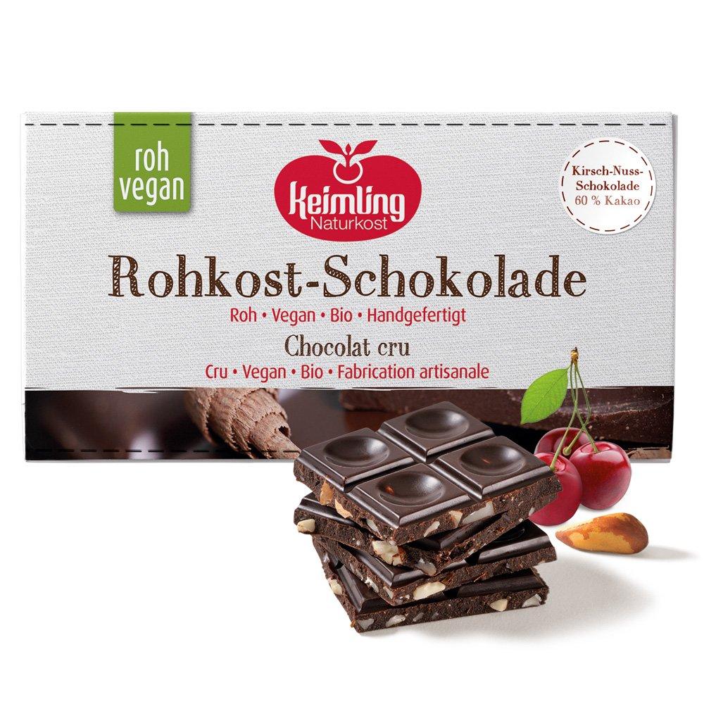 Rohkost Schokolade Kirsch
