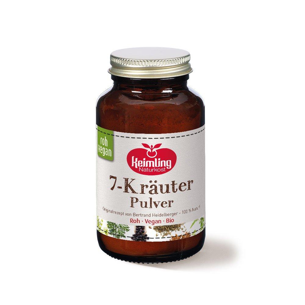 7 Kräuter Pulver, bio 80 g