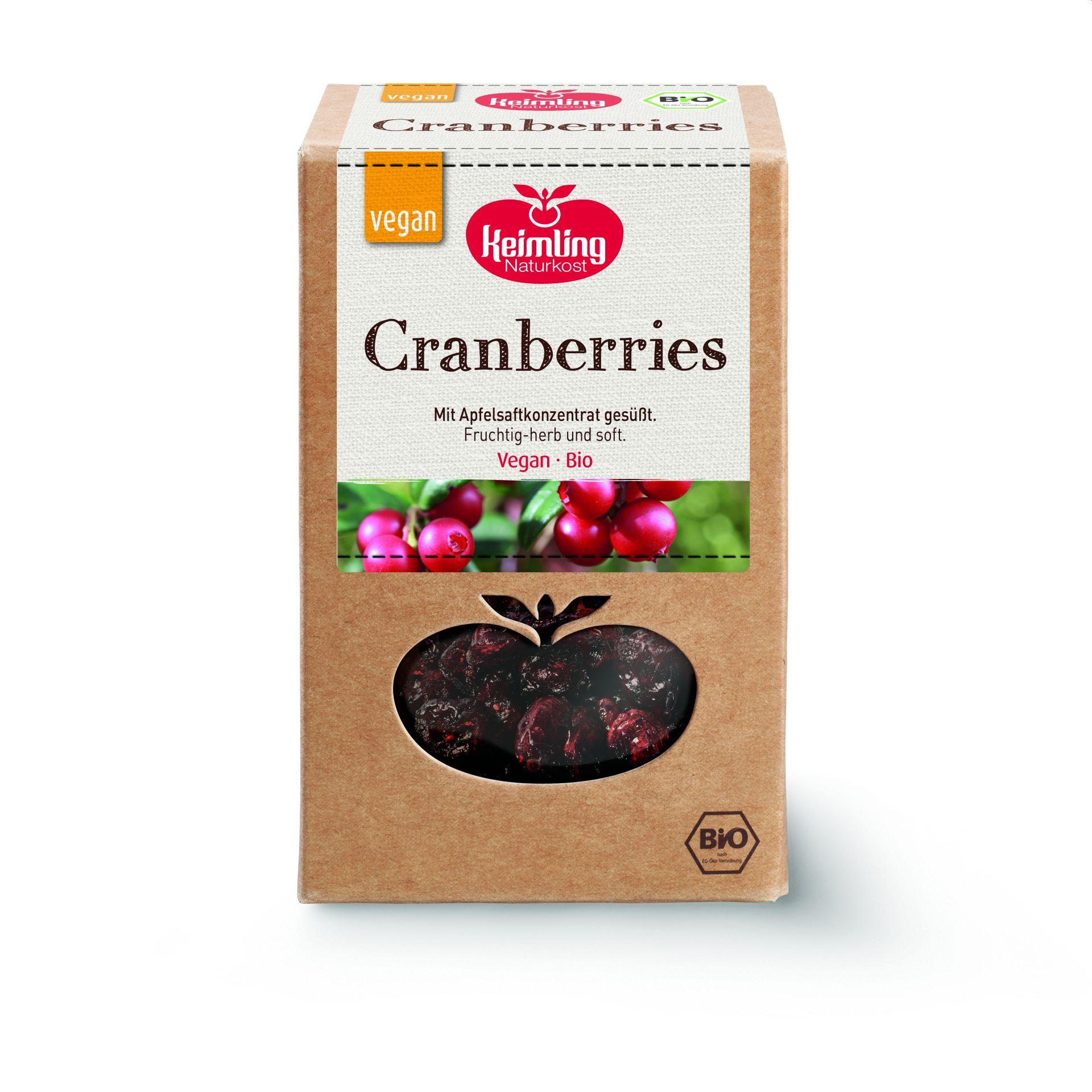 Cranberries bio 500 g