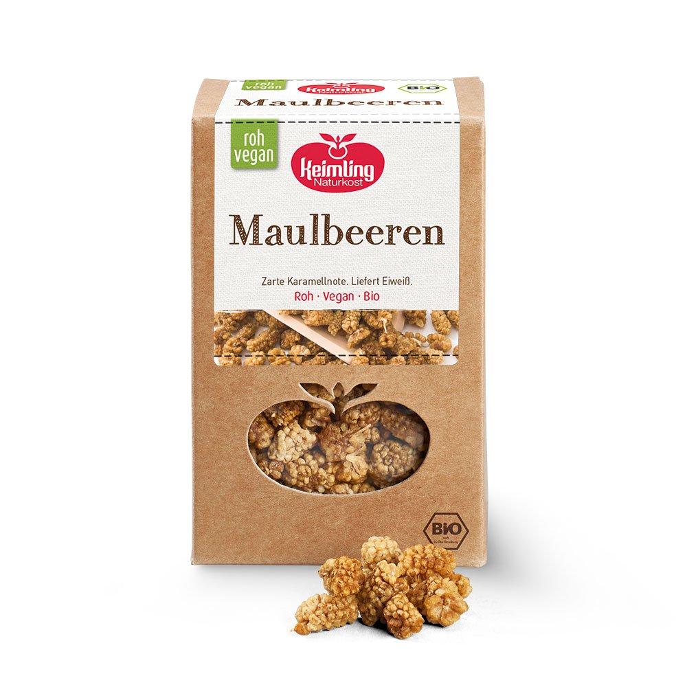 Rohkost-Maulbeeren