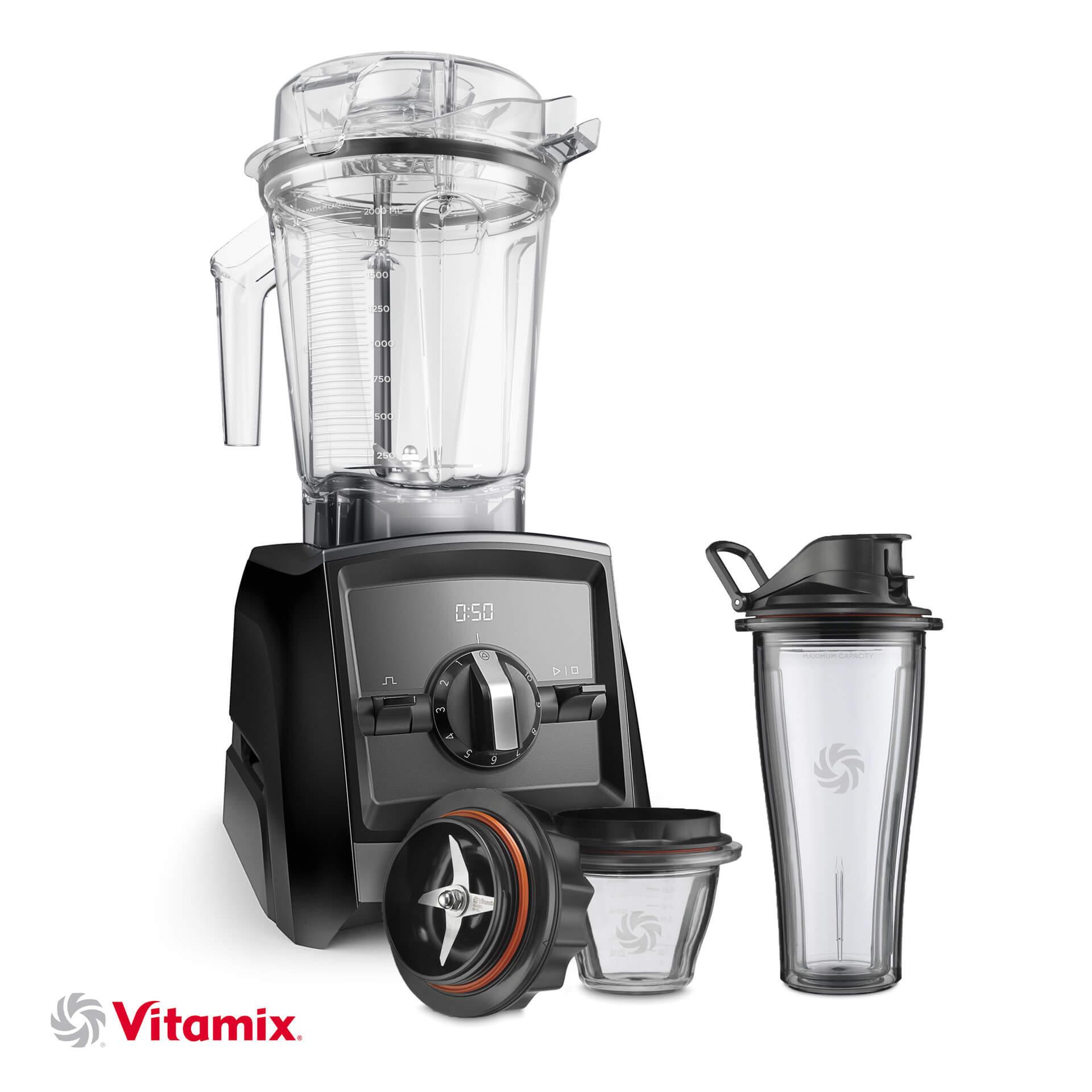 Vitamix A2300i schwarz Starterkit