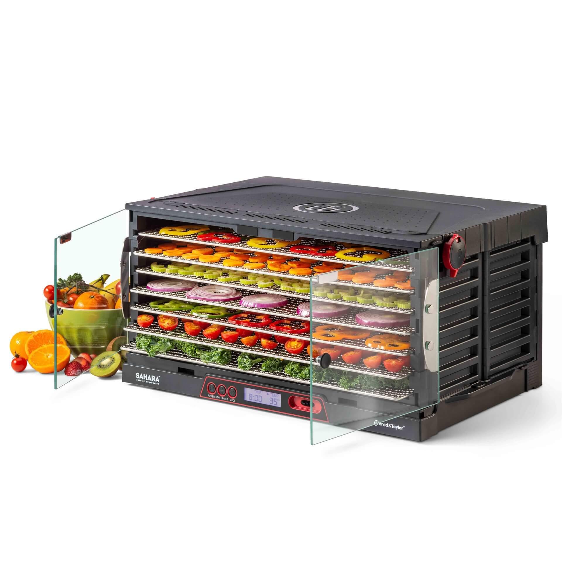 Faltbarer SAHARA DR-720 S Doerrautomat mit Obst und Gemuese