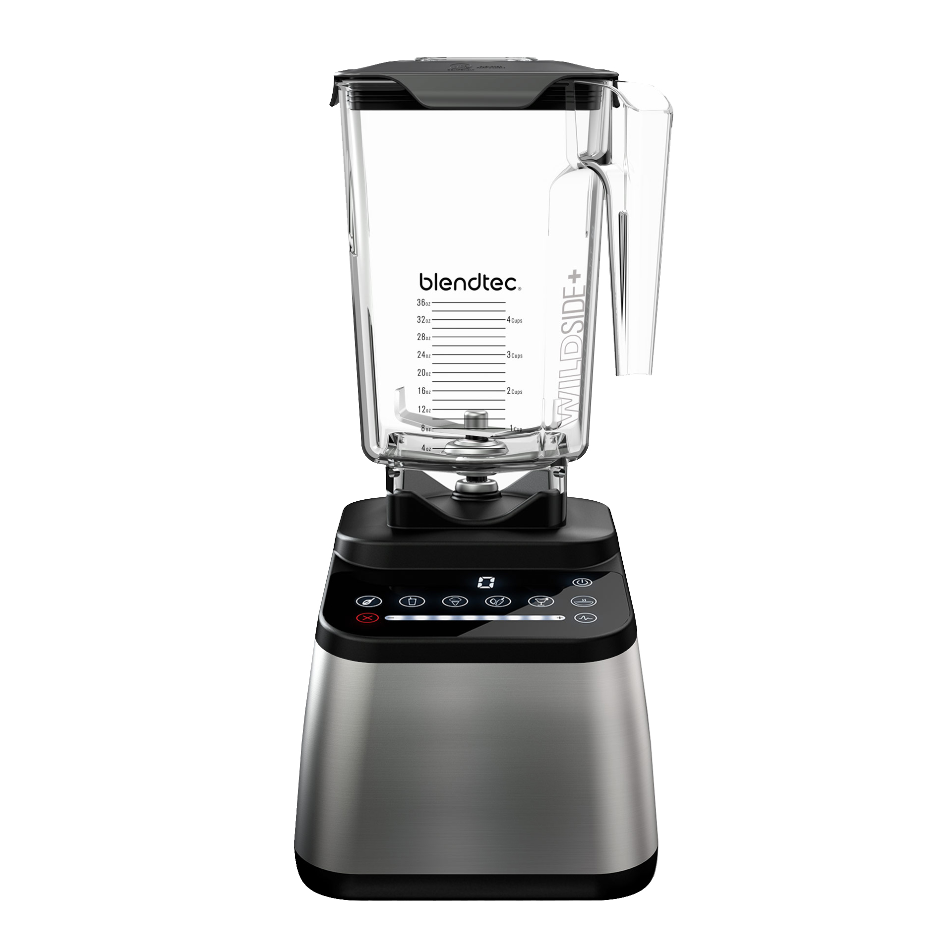 Blendtec Designer 650 Mixer in Silber