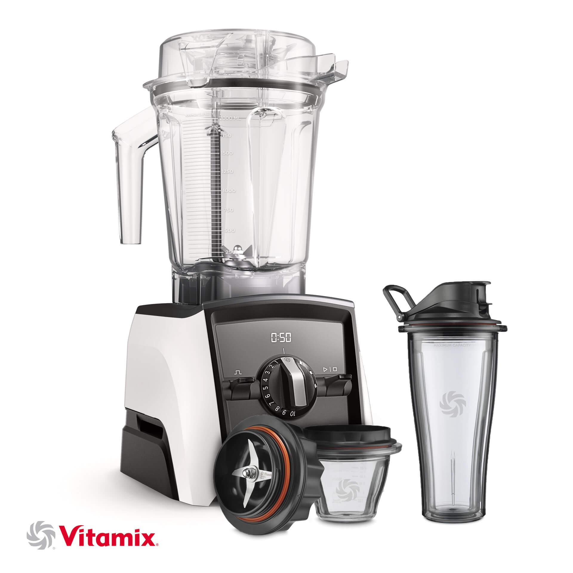 Vitamix A2500i weiss Starter-Kit