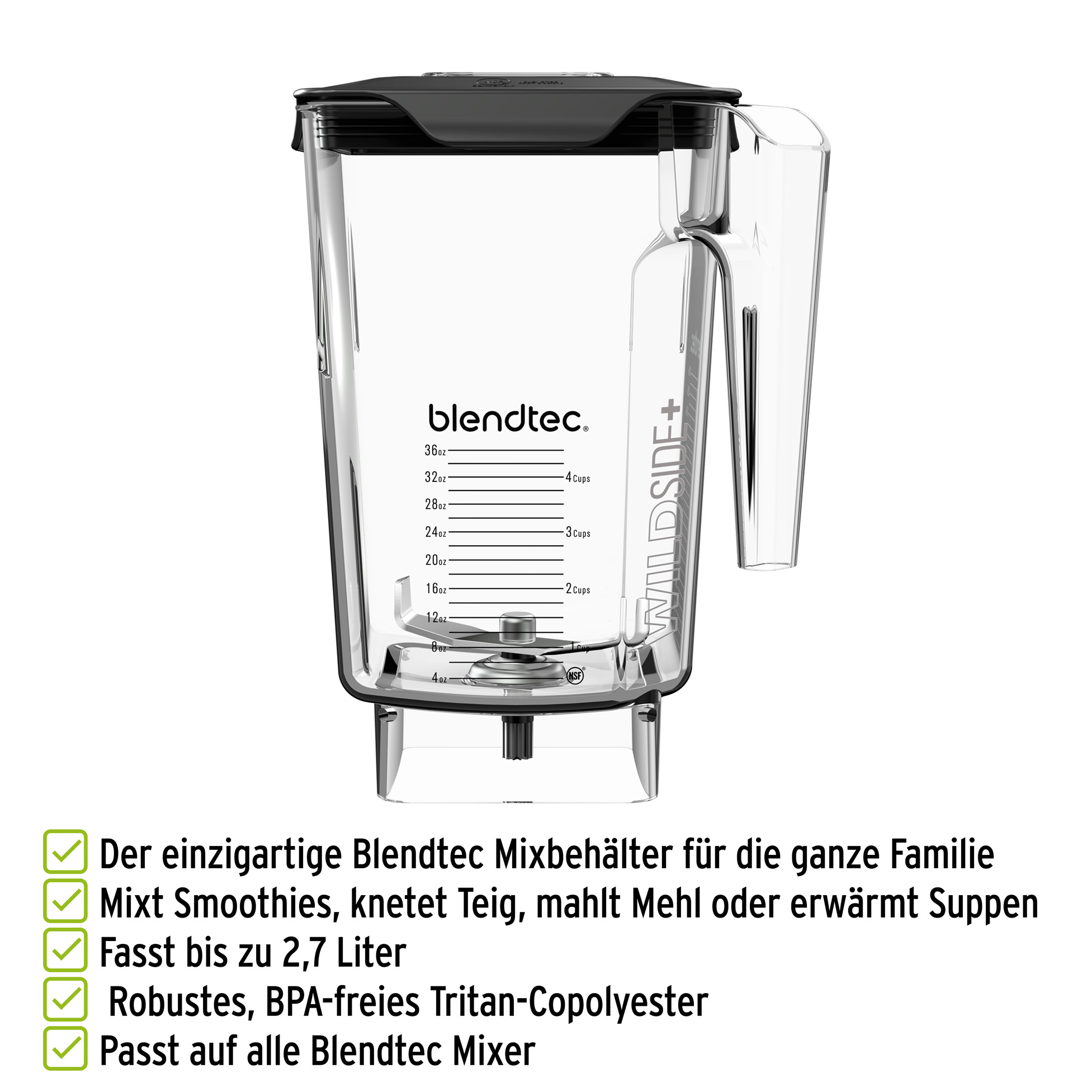 Blendtec WildSide+ Mixbehälter