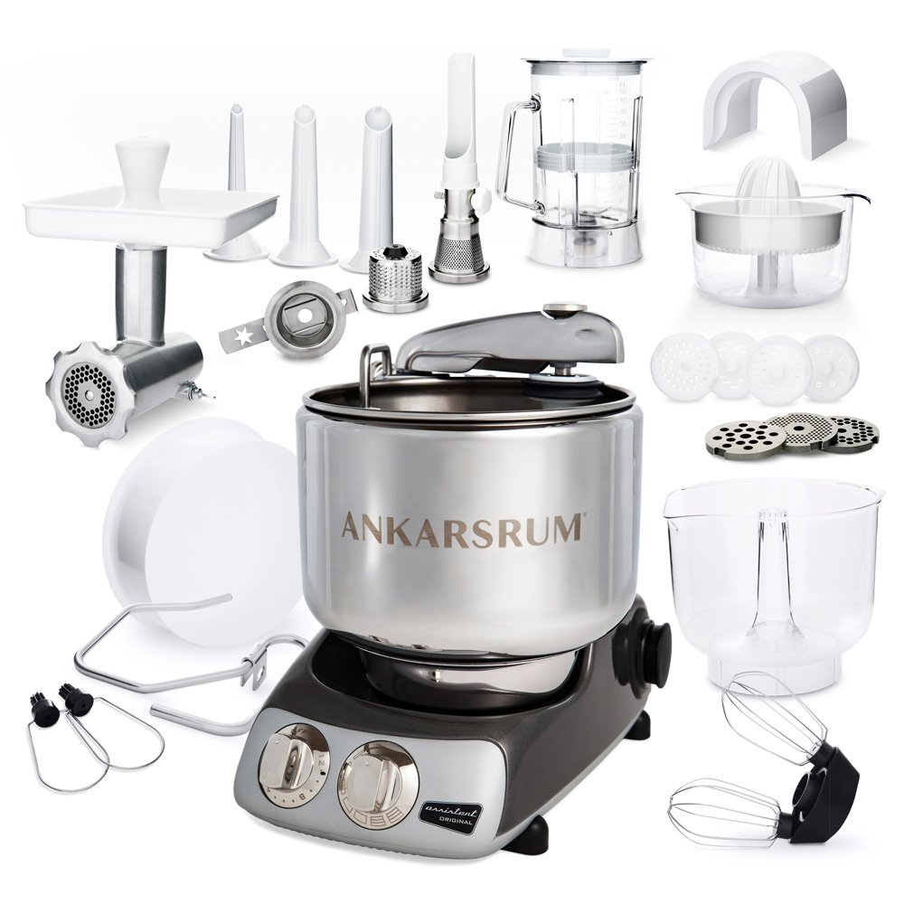 Ankarsrum Assistent Original Black Chrome - Deluxepaket