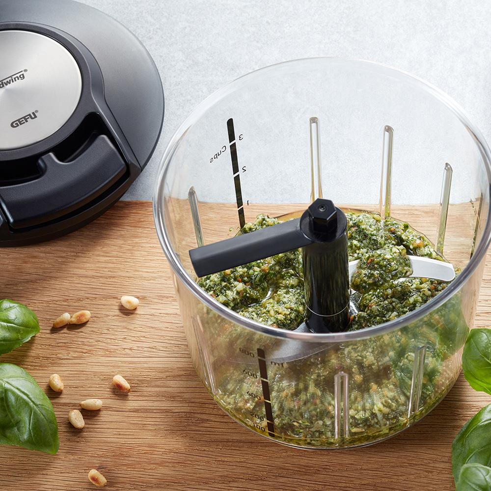 Pesto aus dem GEFU Multizerkleinerer SPEEDWING