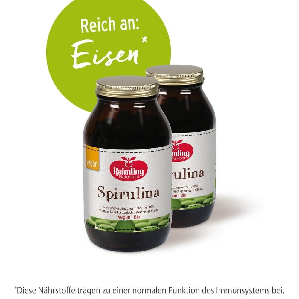 Bio-Spirulina 300 Tabletten