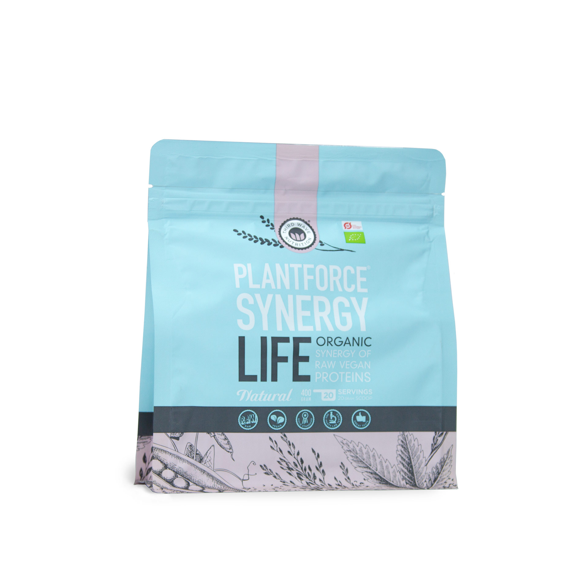 Synergy Life Natural BIO Proteinpulver 400 g