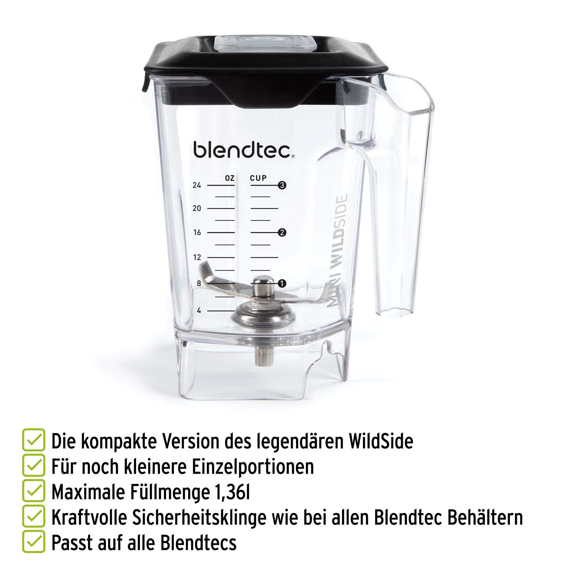 Blendtec MiniWildSide Mixbehälter