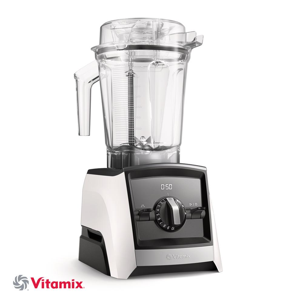 Vitamix ASCENT A2500i weiss mit 225ml Behaelter