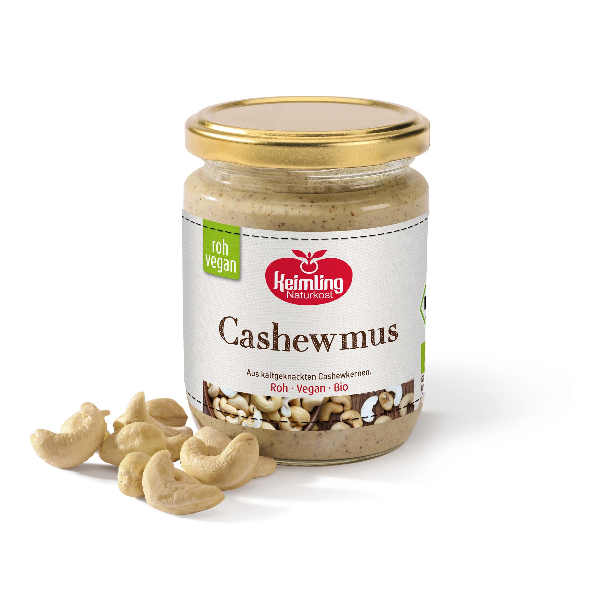Cashewmus von Keimling Naturkost 250 g
