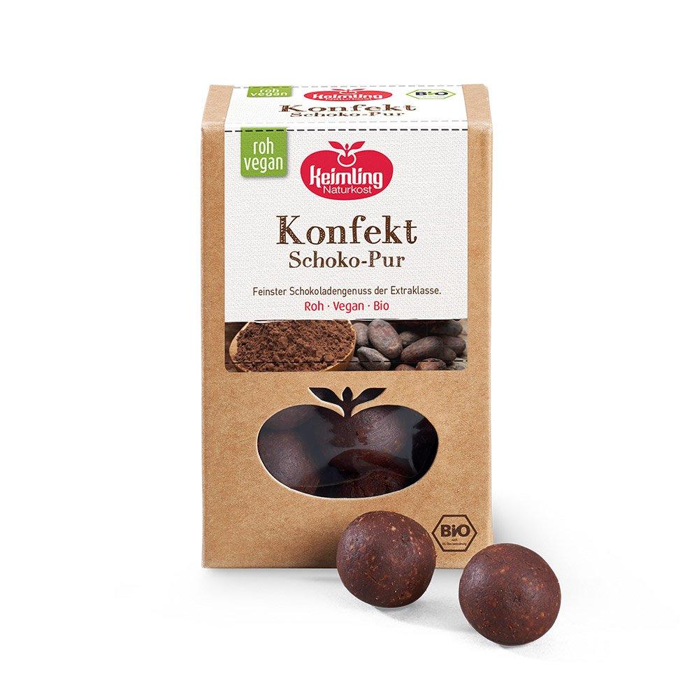 Rohkost-Konfekt-Schokolade-Pur