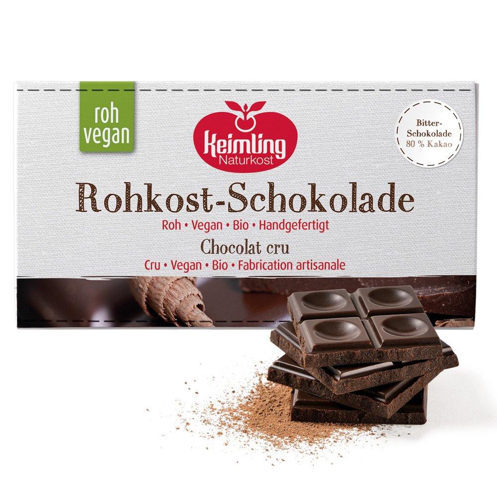 Rohkost Schokolade Bitter