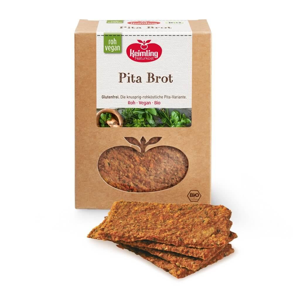 Pita Brot mit Verpackung