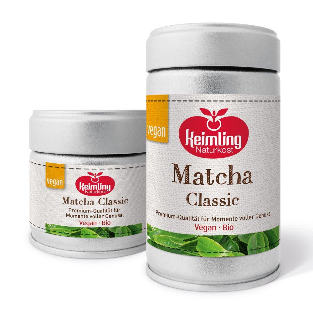 Keimling Matcha Classic 30 g und 80 g Dose