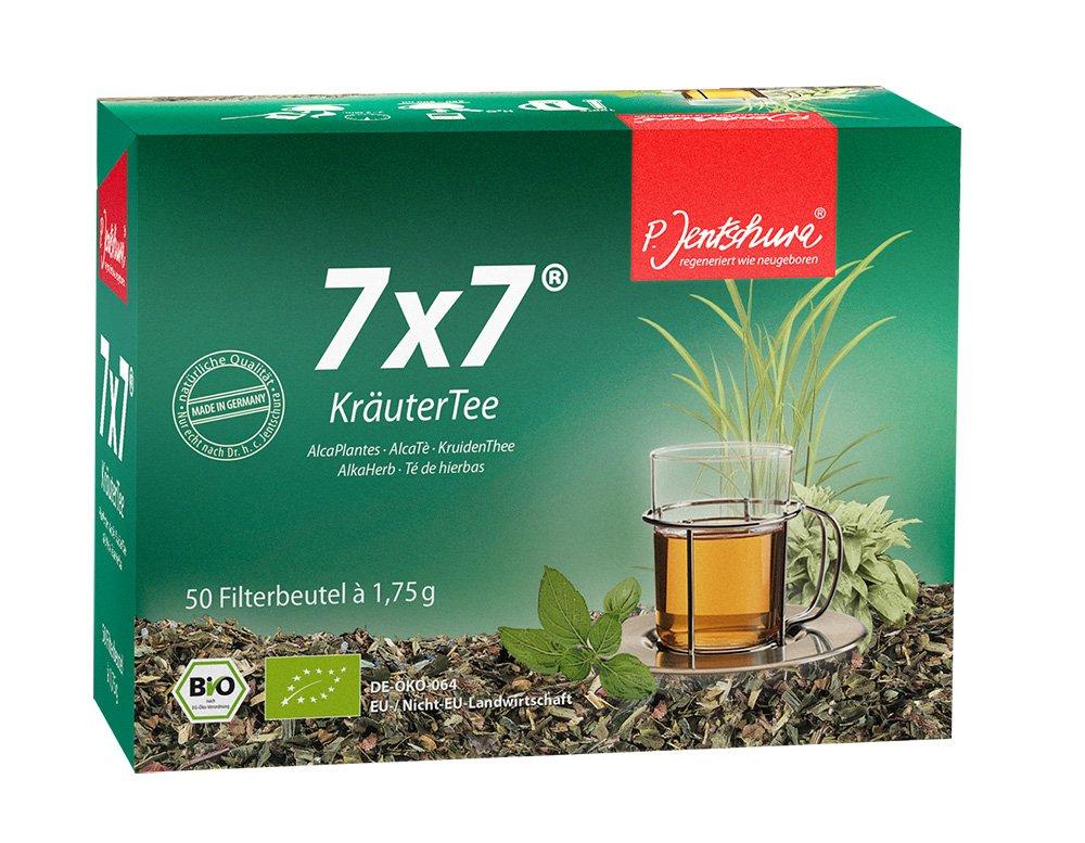 P. Jentschura 7x7 Kräutertee 100 Beutel