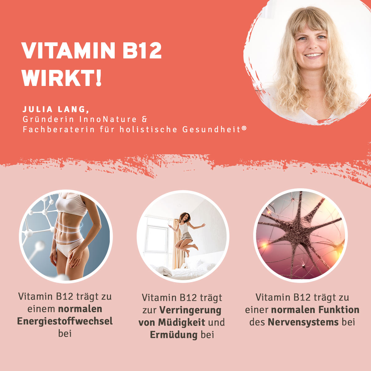 Innonature Vitamin B12 Tropfen, 50 ml