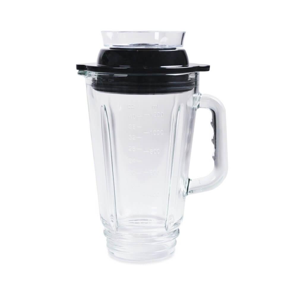 1200 ml Behaelter fuer Personal Blender Glas mit Aufsatz fuer optionale Vakuumpumpe